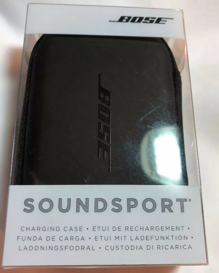 Genuine Brand New Bose Soundsport Charging Case - Black