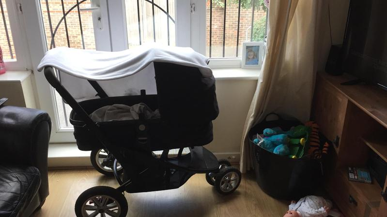 Mothercare Spin Pushchair Green Pram Maxi Posot Class