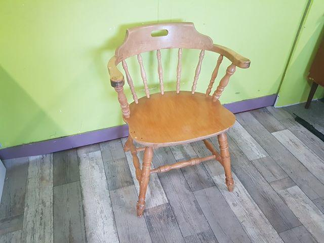 SALE NOW ON - Captin Style Carver Dining Chair - Local