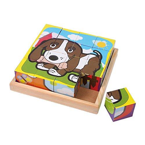 Legler Cube Pets Wooden Puzzles