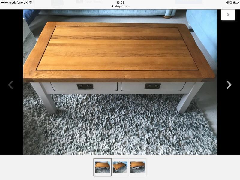 Coffee Table, Oak Furniture Land