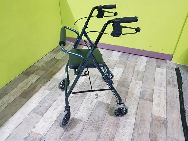 SALE NOW ON - Fold Up Zimmer Frame With Seat - Local