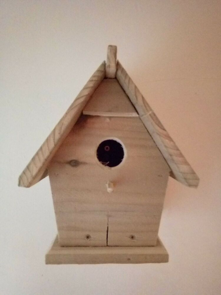 "Wild bird nesting box by"" chest4U"""