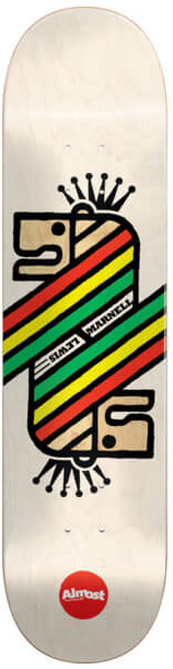 Almost Skateboard Deck Lewis Farewell Infinity 8