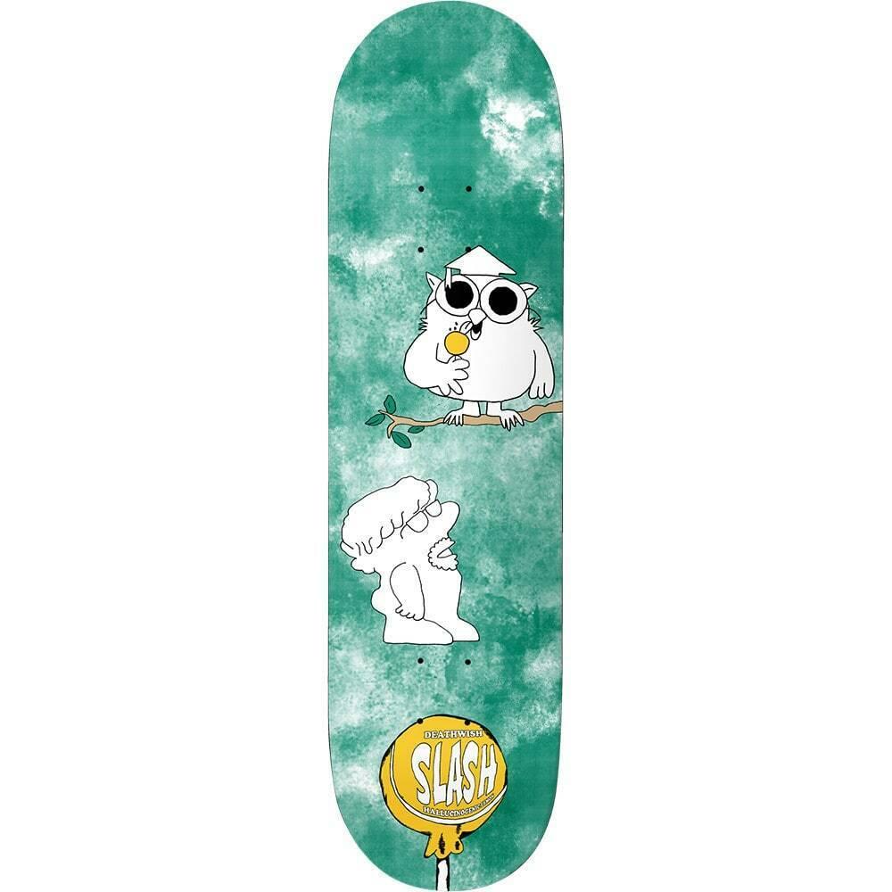 "Deathwish 3 Licks Slash Skateboard Deck """