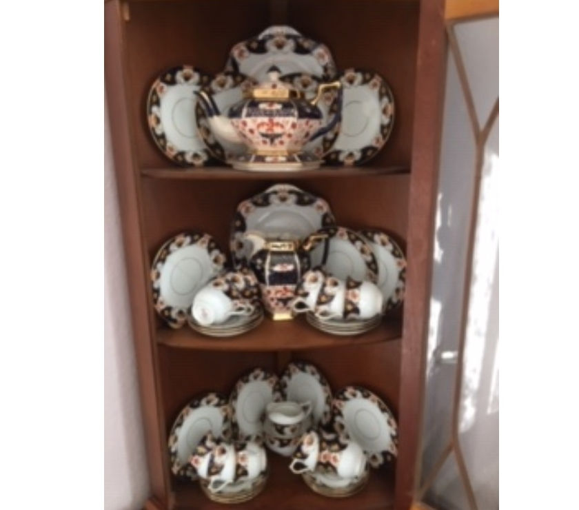 For Sale - Old Tea Set [12 piece setting] approx 100 years