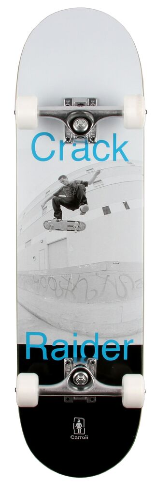 """Girl Crack Raider Custom Skateboard """""""