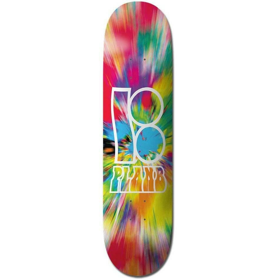 "Plan B Team Wavy Skateboard Deck - """
