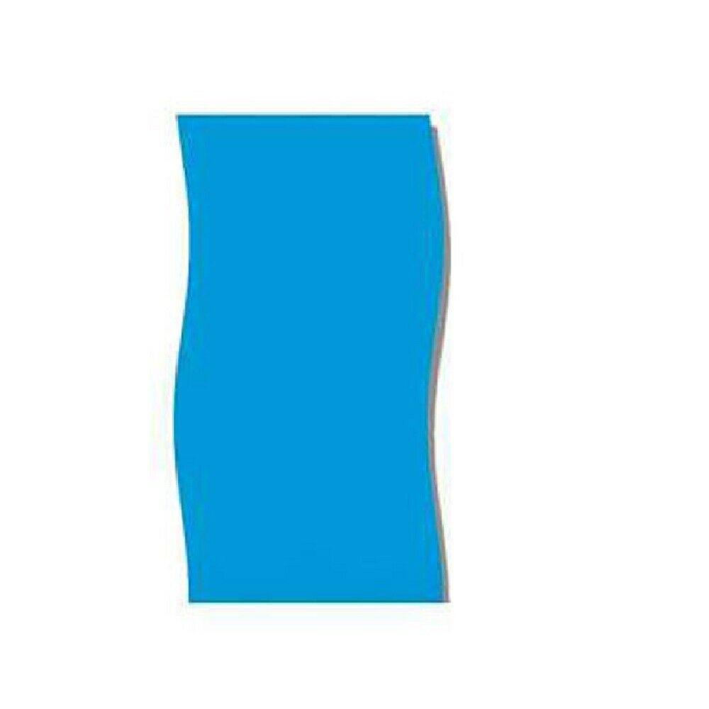 "Swimline LI' x "" Solid Blue Round Above"