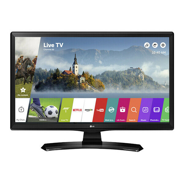 "Smart TV LG 24MT49SPZ 24"" HD Ready IPS LED USB Wifi Black"