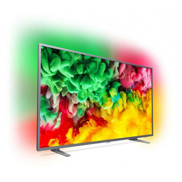 "Smart TV Philips 55PUS"" LED 4K Ultra HD WIFI Black"