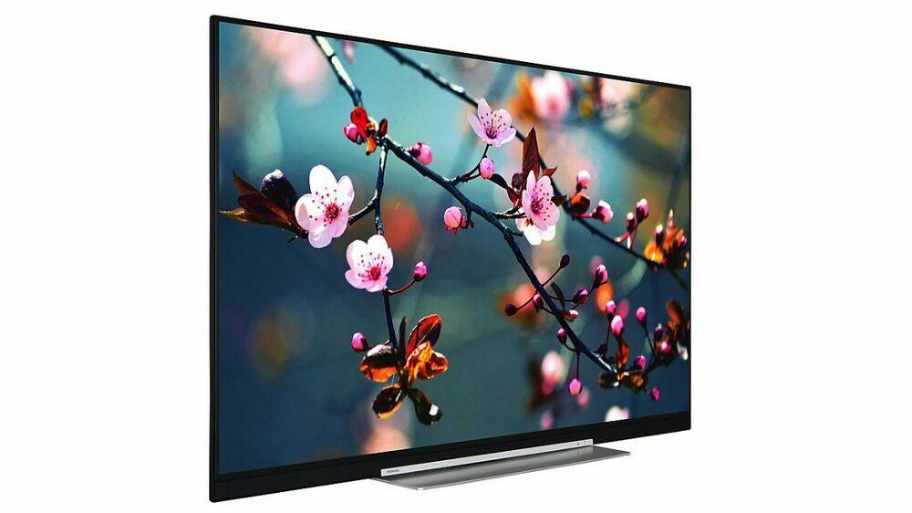 "Toshiba 55UDB 55"" Smart 4K Ultra HD LED TV, Freeview HD,"