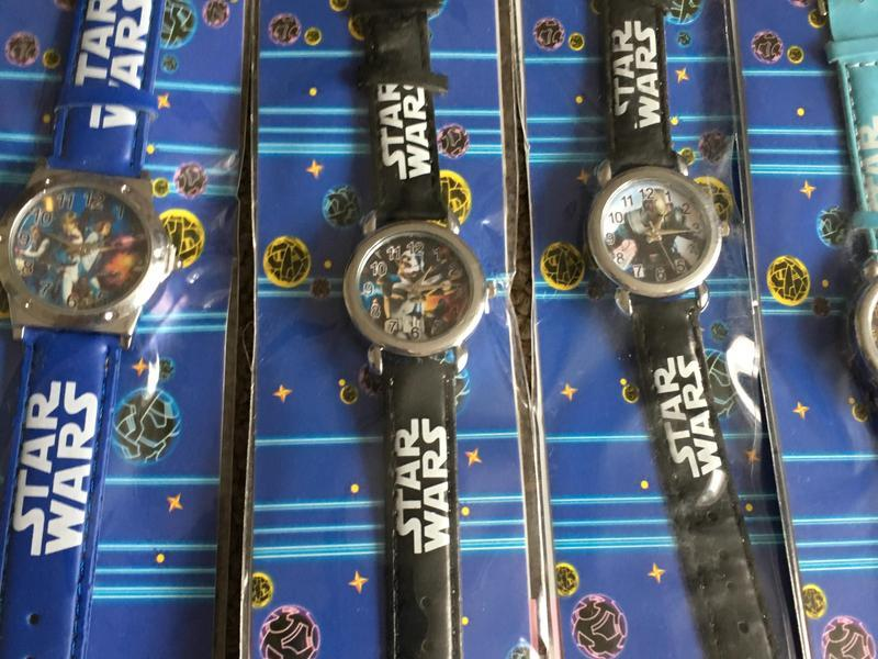 Brand new Star Wars watches boy children's kids toys