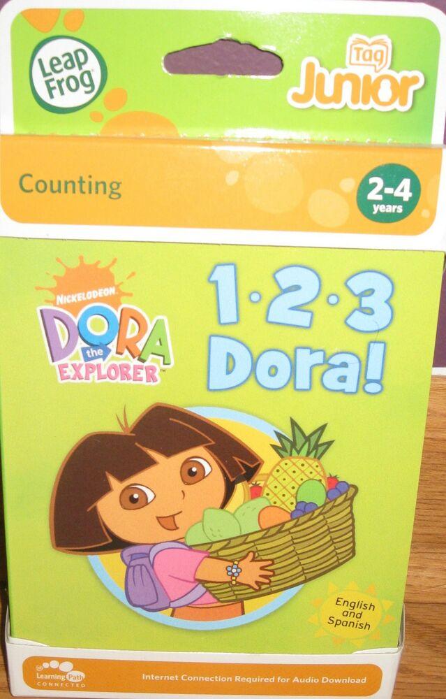 LEAP FROG TAG JUNIOR COUNTING DORA THE EXPLORER (1 2 3 DORA)