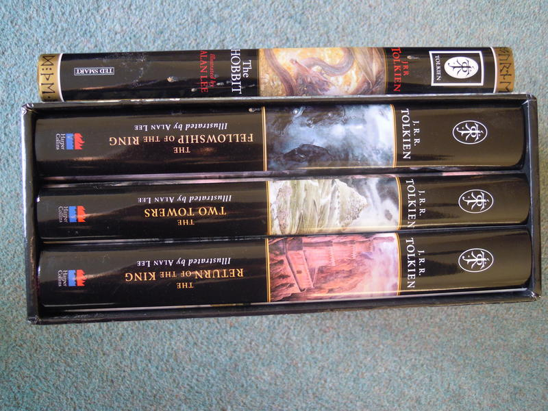 The Lord of the Rings Tolkien Hardback Slipcase 3 Book Set