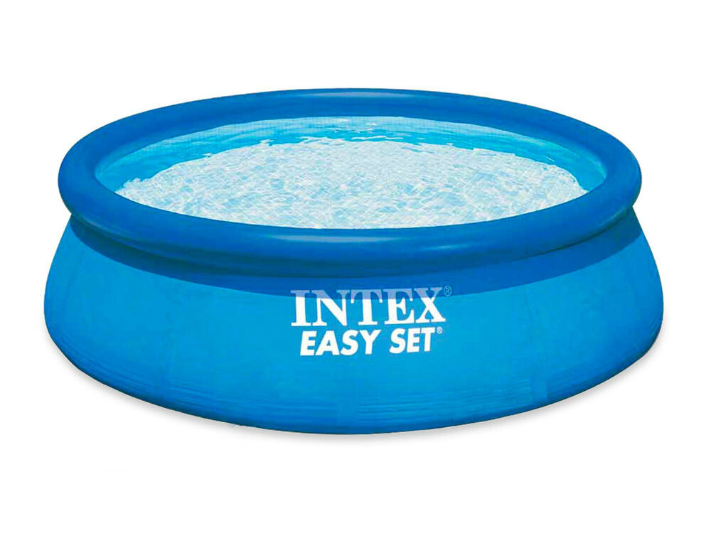 Intex 8ft x 30in Easy Set Inflatable Swimming Pool #