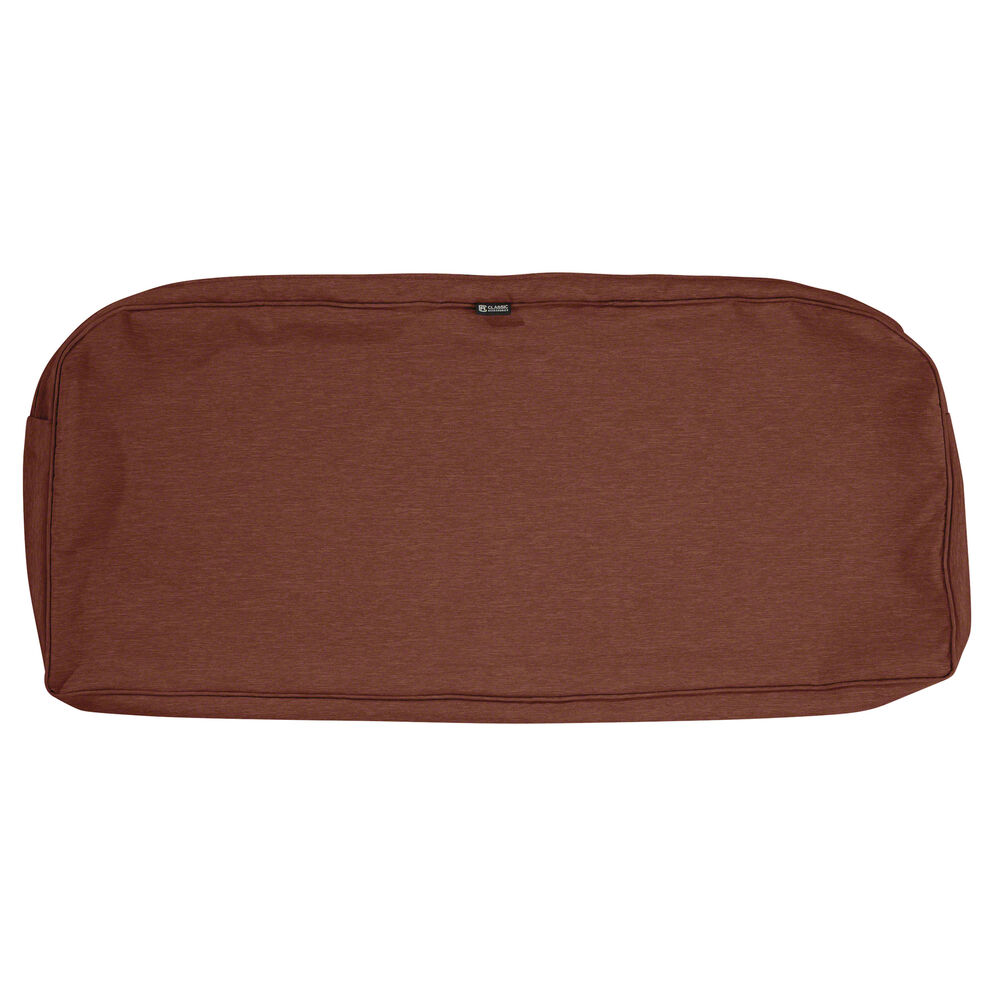 ONE NEW SETTE/BENCH CUSHION SHELL HENNA - 41x18x3 CONT