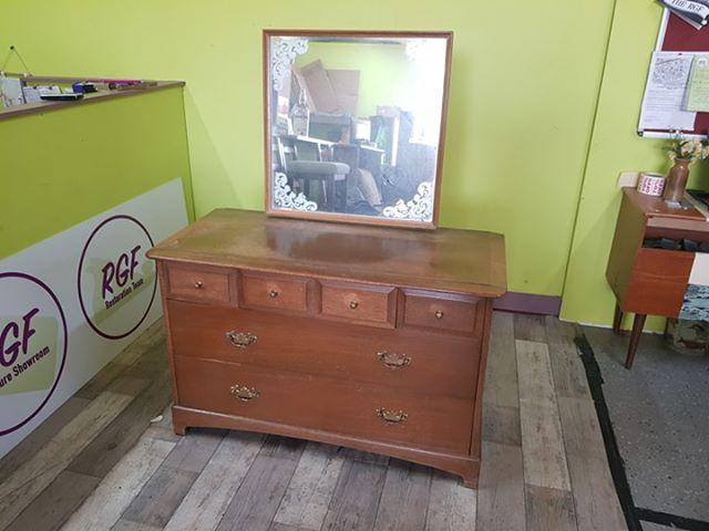 SALE NOW ON - Stag Dressing Table / Chest - Local Delivery