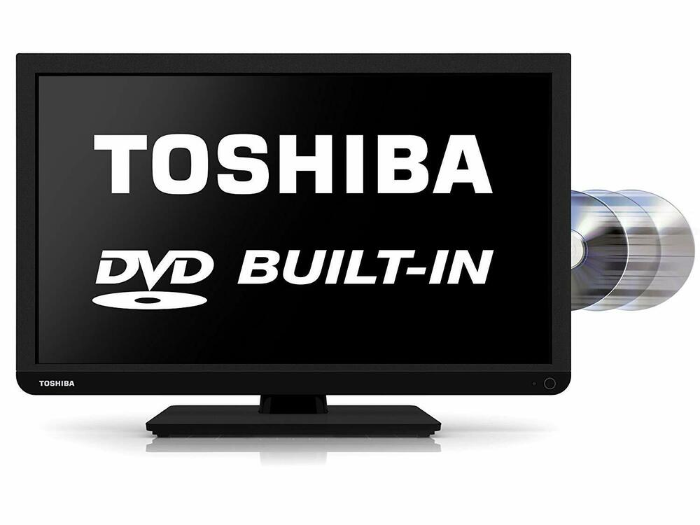 "Toshiba 24DB2 24"" HD Ready LED TV with Freeview and"
