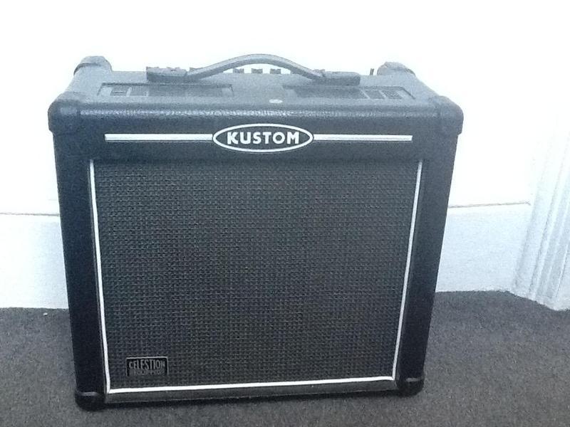 Kustom guitar amp for sale