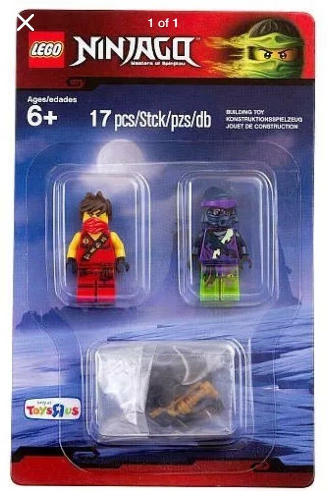 "LEGO Ninjago ""2 MINIFIGURES"" Toys R Us Exclusive New Sealed"