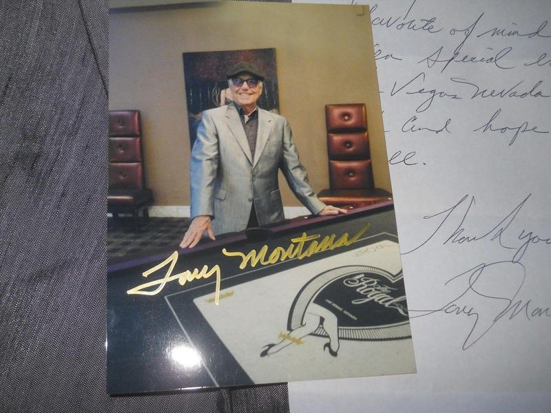 Tony Montana CASINO signed autograph personal owned and worn