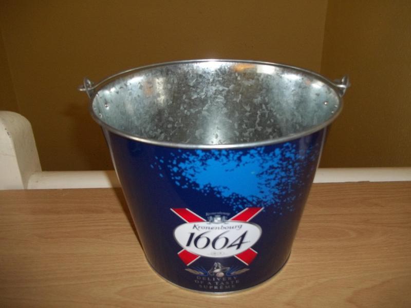 Kronenbourg ice bucket, new