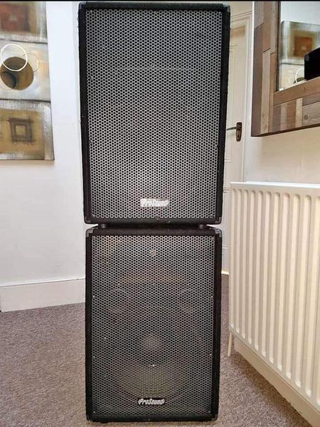 Prosound 500w Loud Speakers