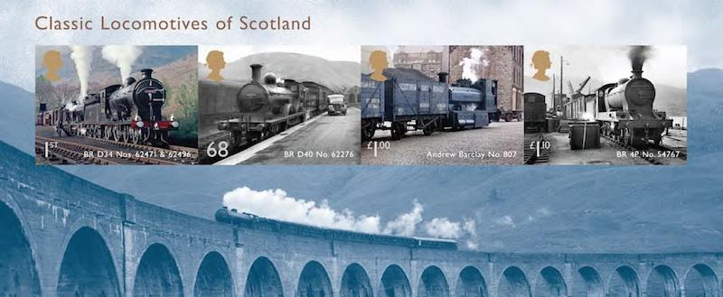 Railway Stamps
