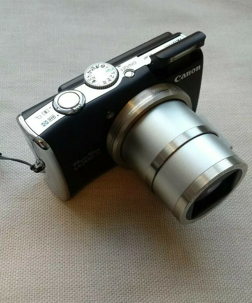 Canon PowerShot SX200 IS 12.1MP Digital Camera