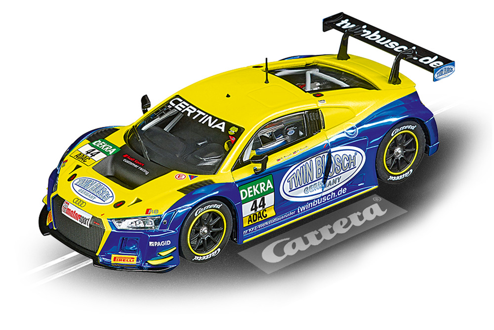 "Carrera Evolution 1/32 Slot Car  Audi R8 LMS ""Twin"