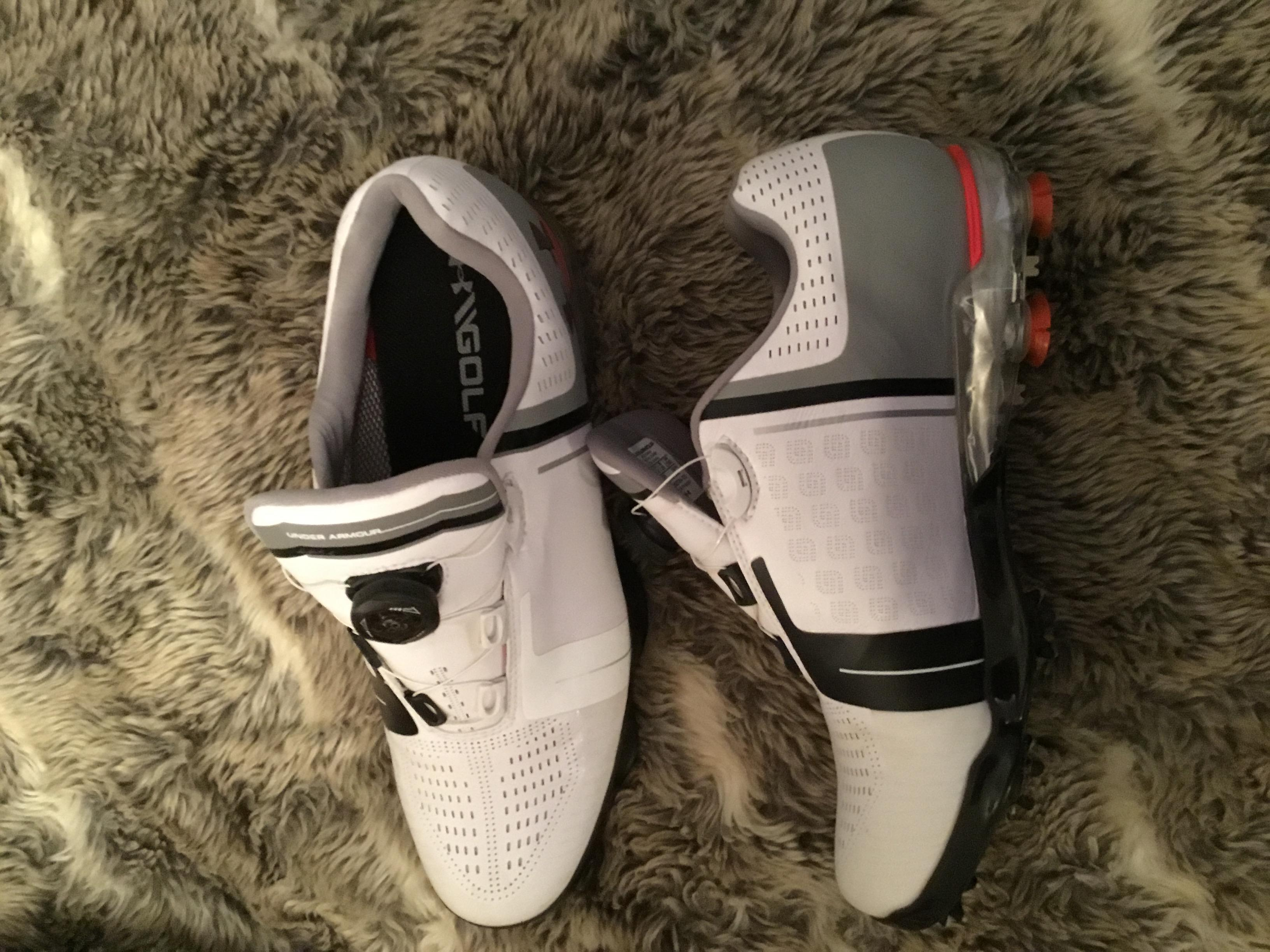 Jordan spieth Boa golf shoes, size 10, comes with footjoy