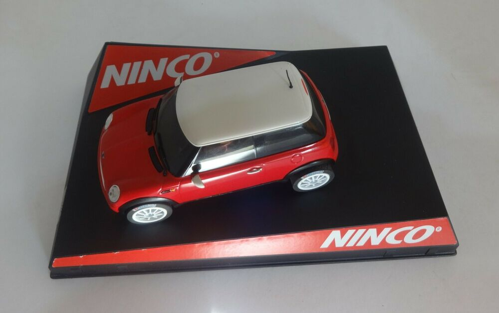 "Scalextric Ninco  Mini Cooper ""Red"" Very Good Condition"