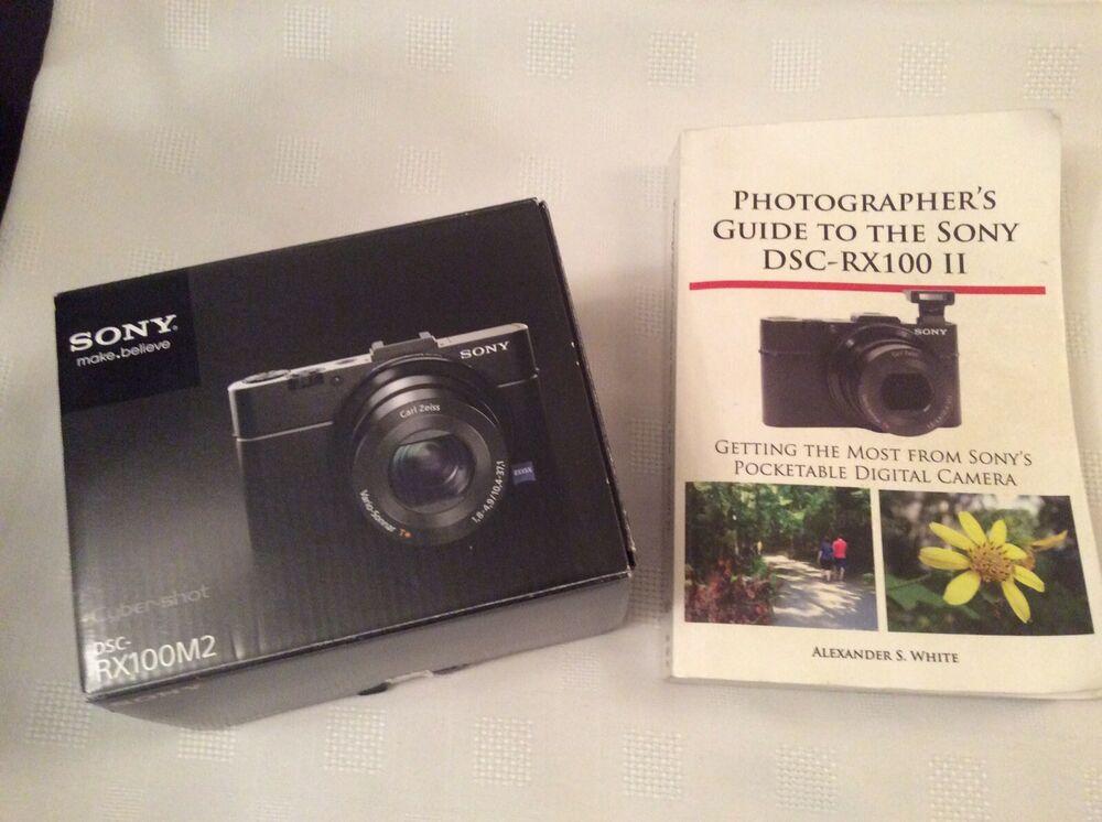 "Sony DSC-RX100 Mark II 20.2MP Digital Camera 3"" Tiltable"
