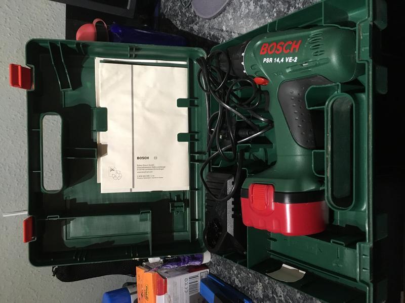 BOSCH PSR 14,4 VE 2 Cordless Drill/ Driver