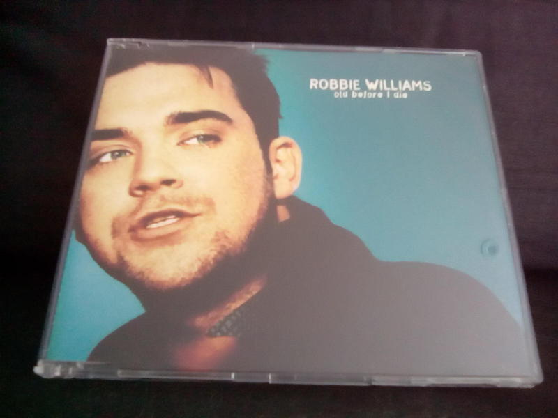 ROBBIE WILLIAMS OLD BEFORE I DIE LTD CD SINGLE * BRAND NEW *