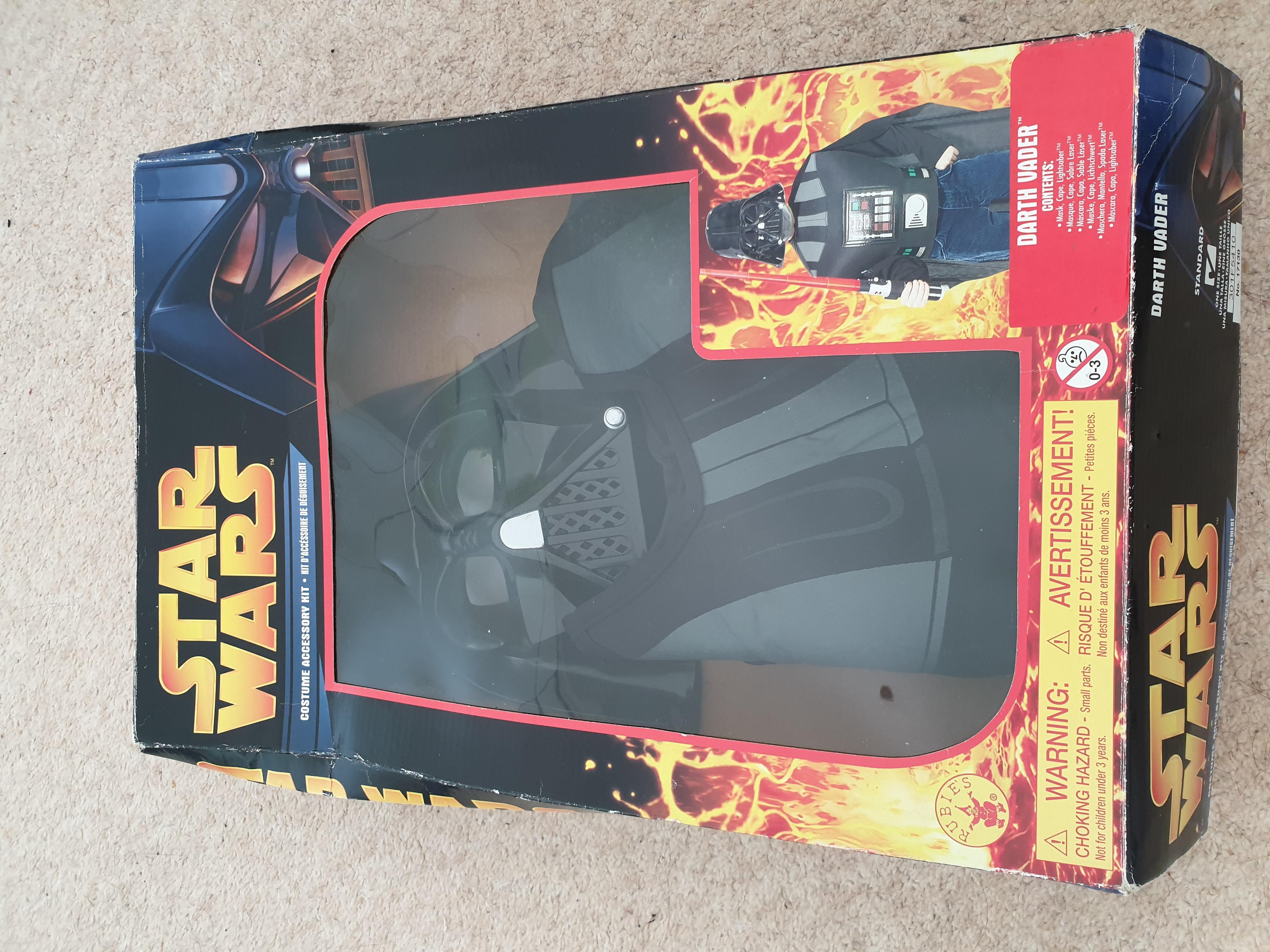 Star Wars Dress up kit- Darth Vader