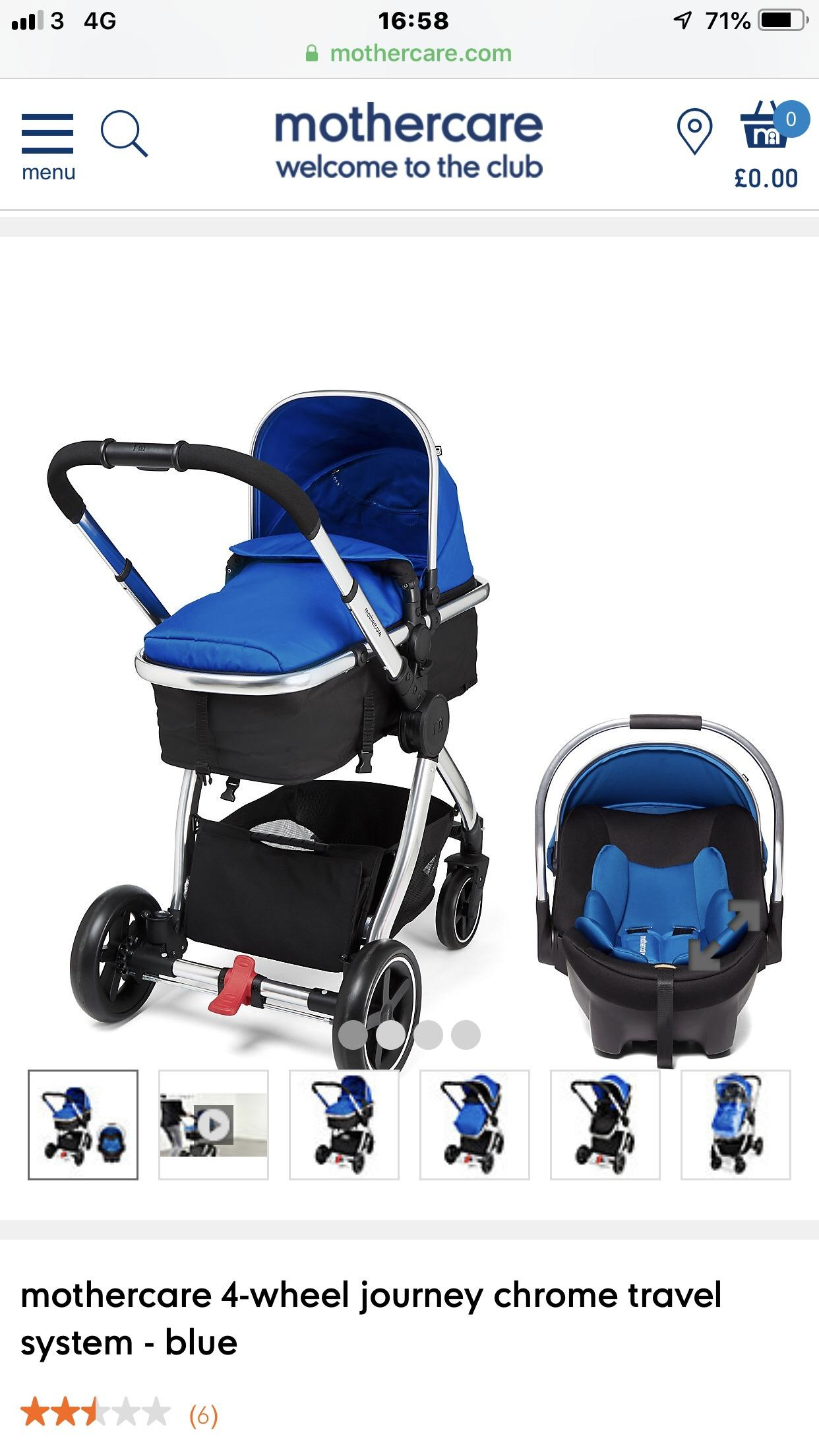 Mothercare jive stroller used for 1day essex | Posot Class