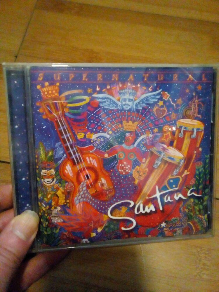 Santana - Supernatural CD - Smooth/Rob Thomas