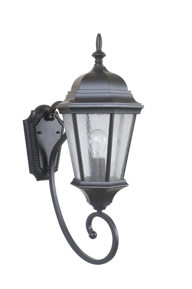 """Craftmade Z Newberg 1-Light """"H Outdoor Sconce"""