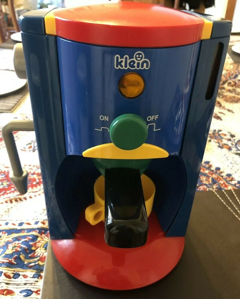 Klein Espresso Coffee Machine Kids Children Pretend Play