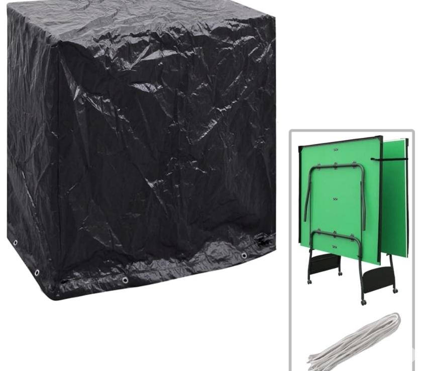 vidaXL Garden Furniture Cover Tabletennis  New