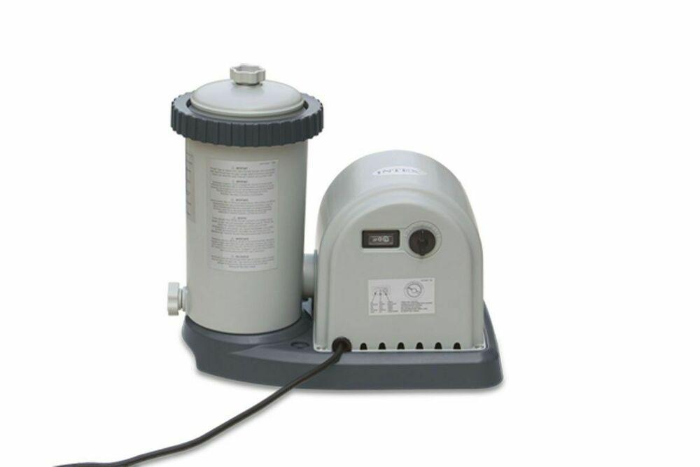 Intex  GPH Easy Set Pool Filter Pump w/Timer & GFCI