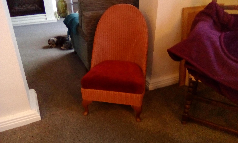 Nursing chair. by Lloyd Loom