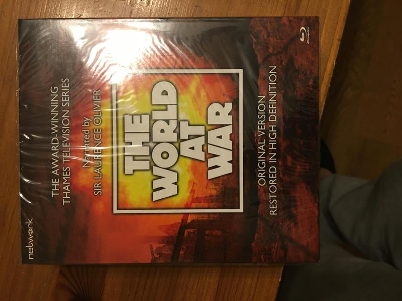 The World At War Complete series on Bluray