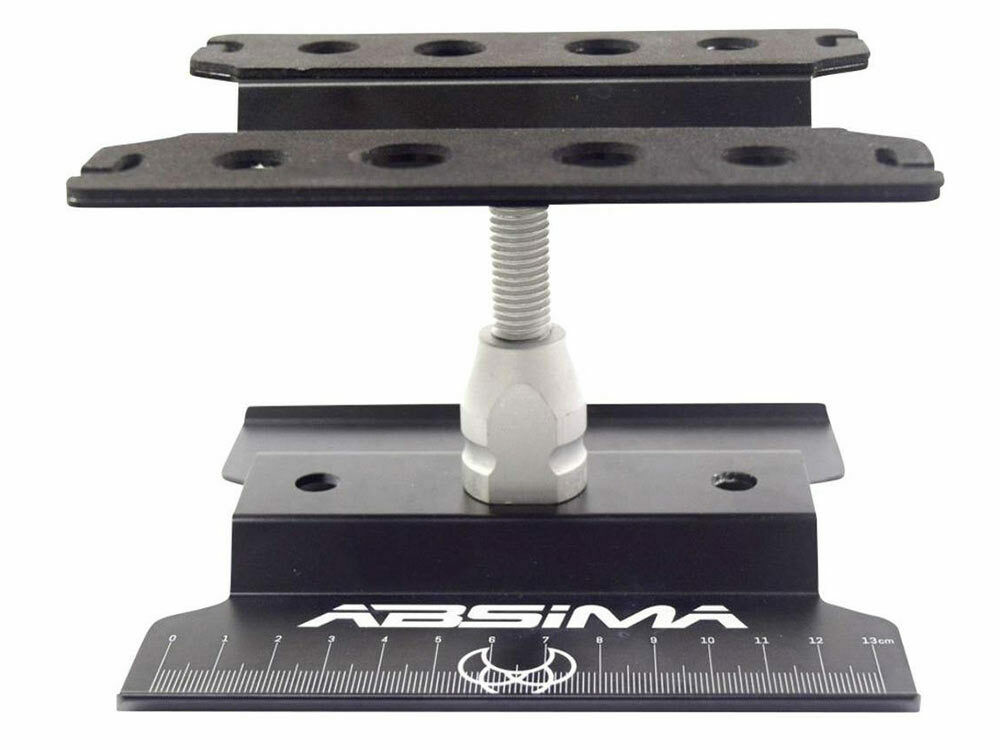 Absima Car Stand Grey: 1/10 and 1/8th #