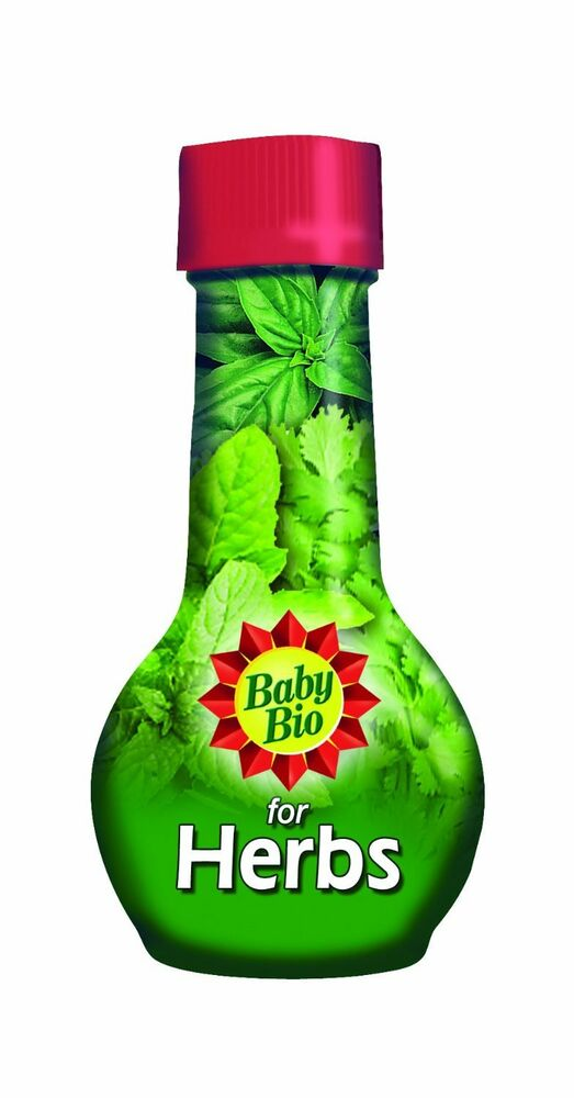 Baby Bio Herb Food Plant Food Feed Fertilizer - 175 mL