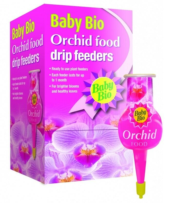 Baby Bio Orchid Drip Feeders 1 x 40ml - Ready to use Plant