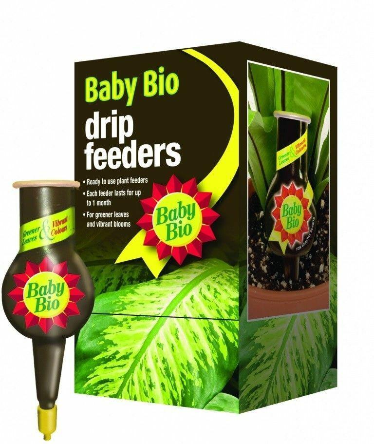 Baby Bio Original Drip Feeders Plant Food for House Plants -