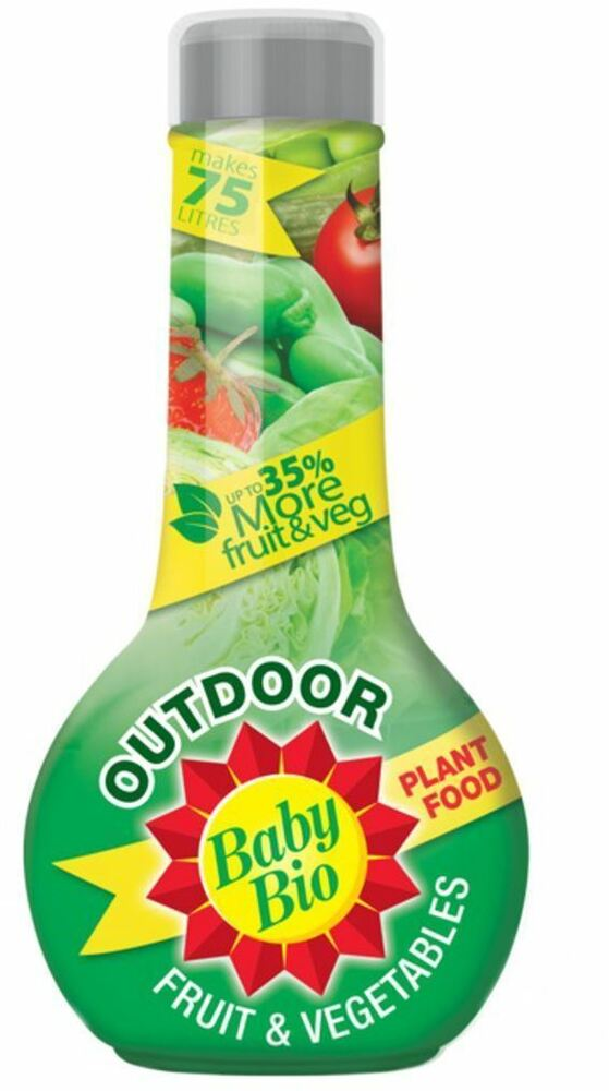 Baby Bio Outdoor Fruit & Vegetables Plant food 750ml UP TO